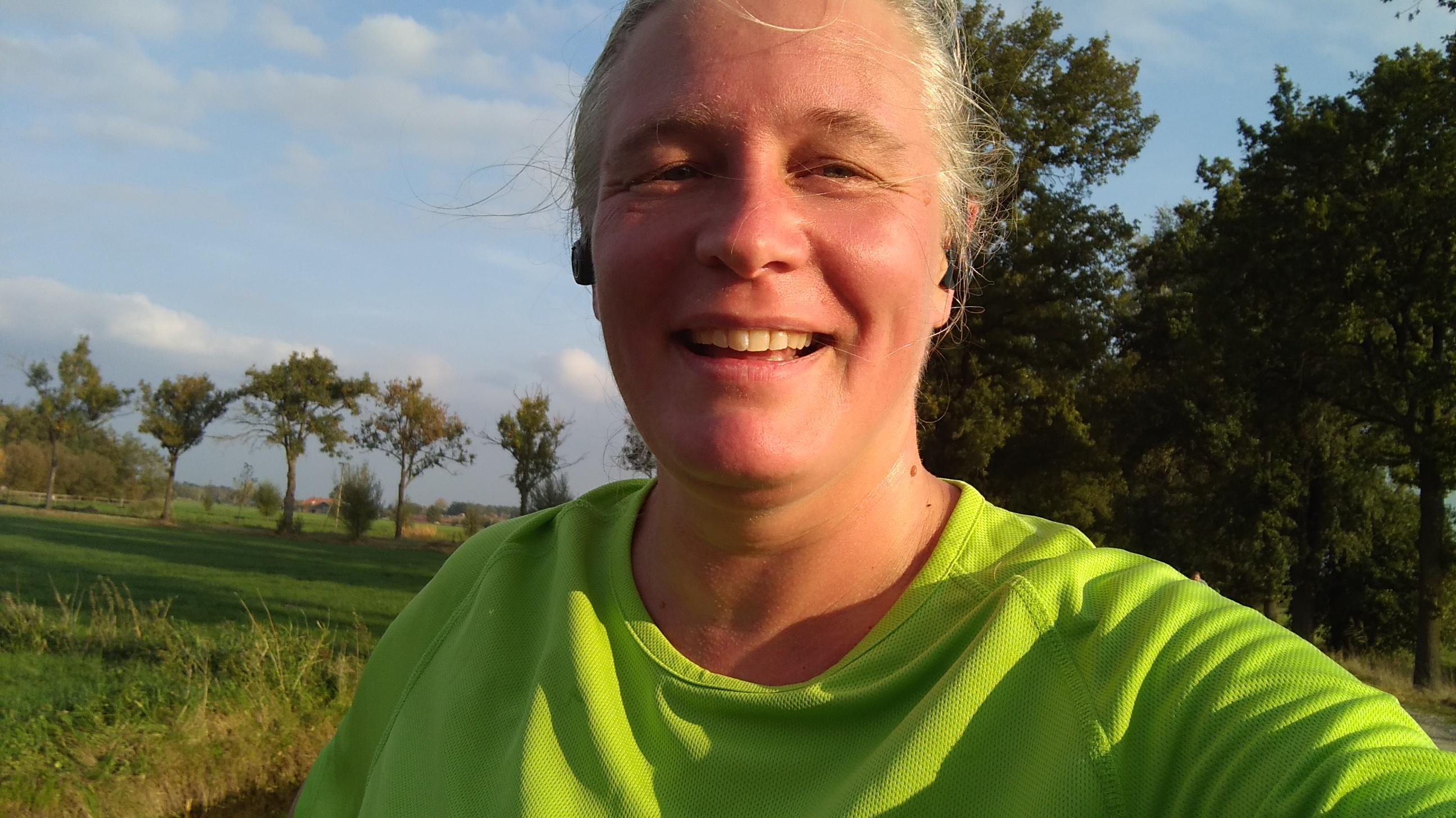 4 x 1 minuut wandelen + 7 minuten hardlopen