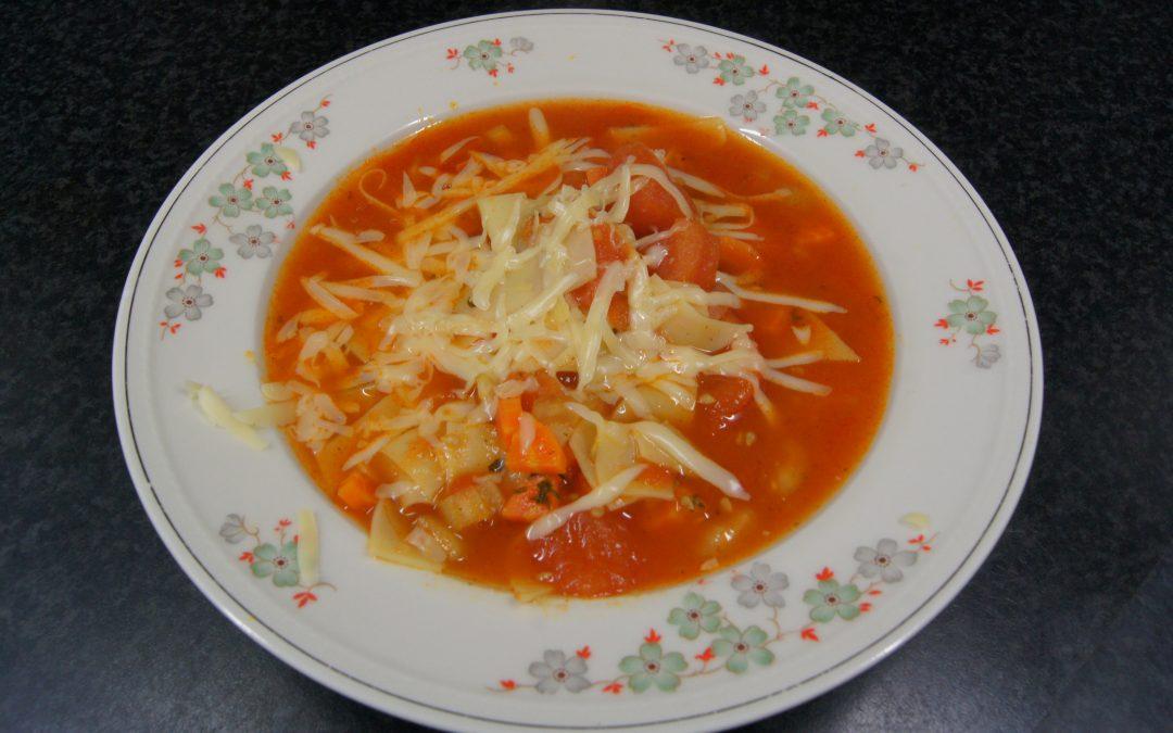 Lasagnesoep