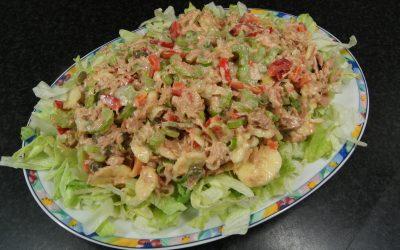 Tonijn-banaan salade