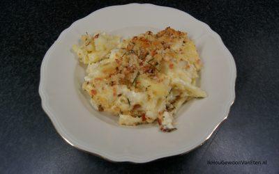 Bloemkool, macaroni en kaas