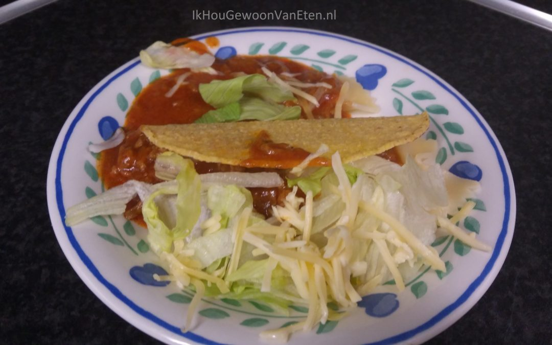 Spaghetti taco's