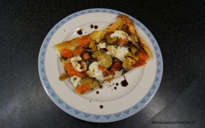 Omgekeerde bladerdeeg pizza van Jamie