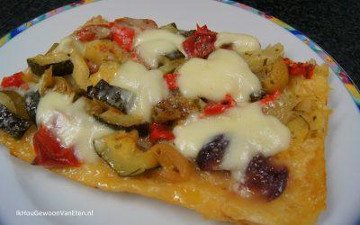Traybake-pizza