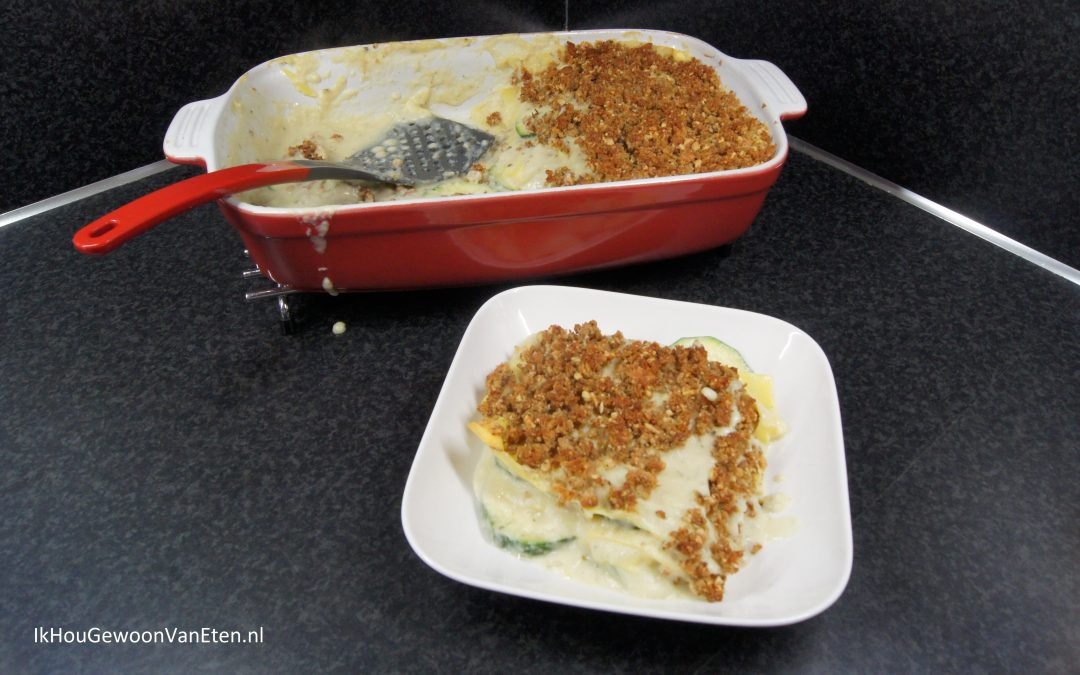 Bloemkool lasagne
