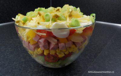 Laagjes salade