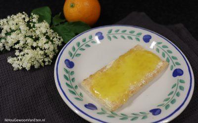 Vlierbloesem-sinaasappelgelei