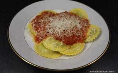Pasta met overheerlijke tomatensaus