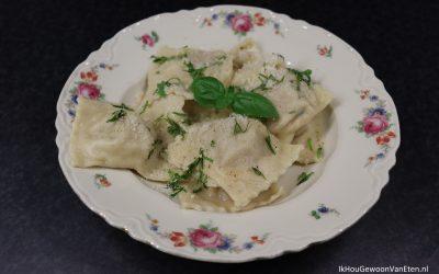 Zelfgemaakte ravioli a la The Naked Chef