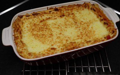 Lasagne met Quorn, puntpaprika en mascarpone
