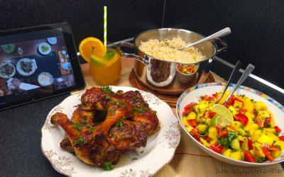 Caribbean feast with original flava