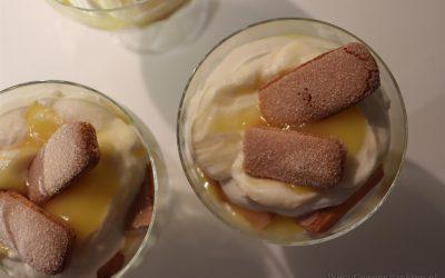 Trifle met lemon curd
